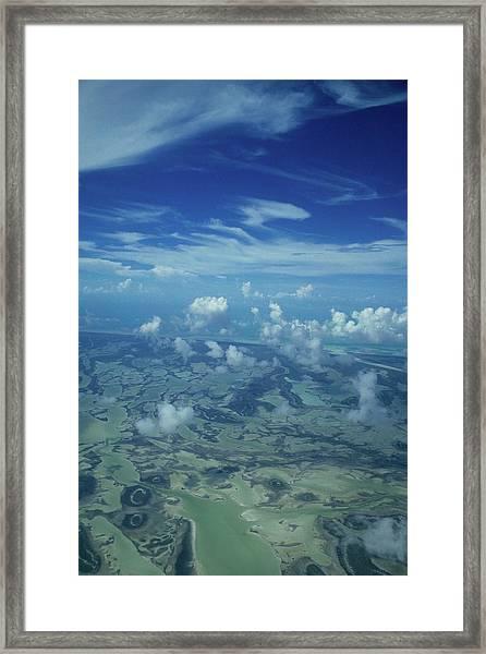 Caribbean Isle Mosaic Framed Print