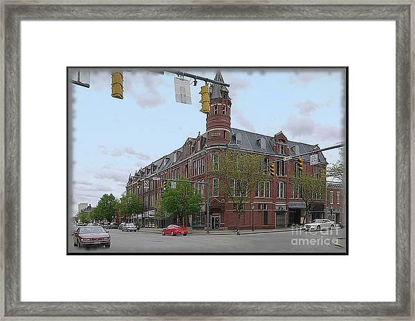 Carlisle Building -  A Chillicothe Landmark Framed Print