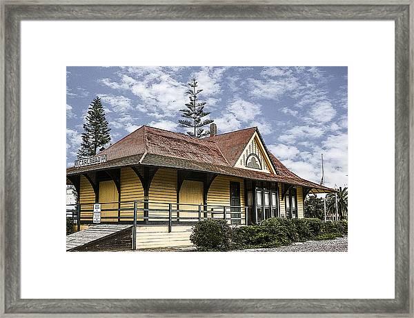 Carlsbad Railroad Depot Framed Print