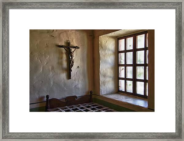 Carmel Mission 4 Framed Print