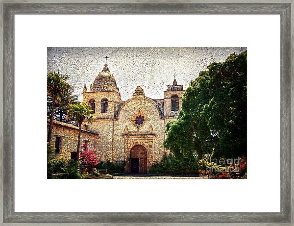 Carmel Mission Framed Print