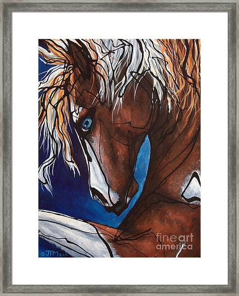 Carnaval Ride Framed Print