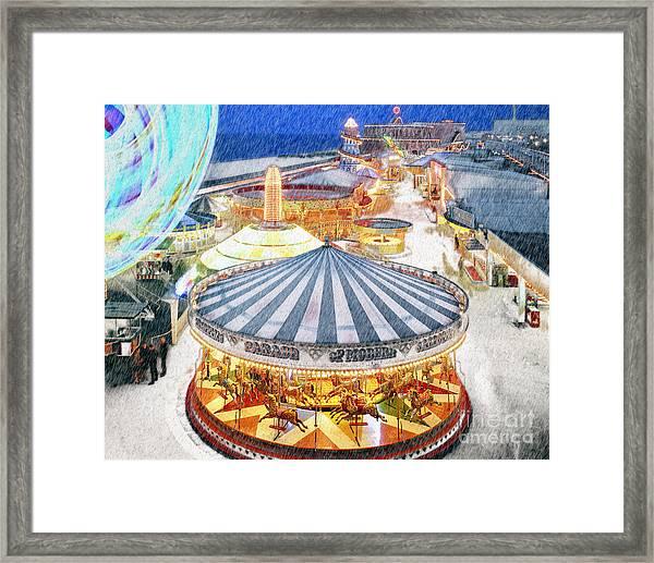 Carousel Waltz Framed Print