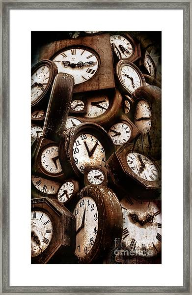 Carpe Diem - Time For Everyone Framed Print