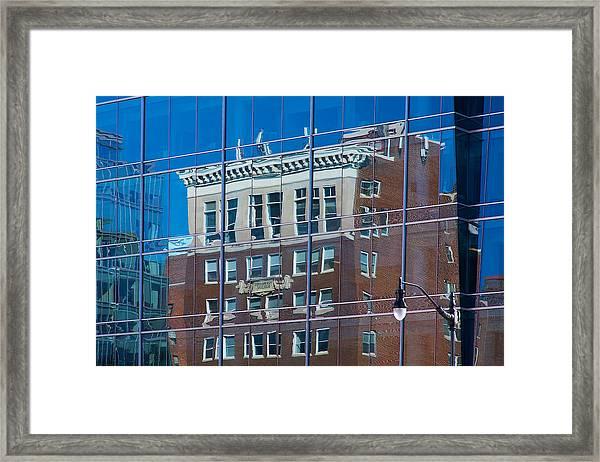 Carpenters Building Framed Print
