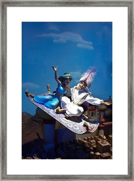 Carpet Ride Framed Print