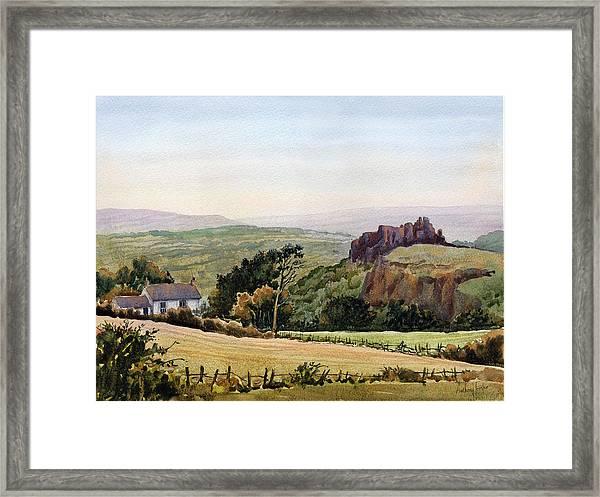 Carreg Cennan Castle Framed Print