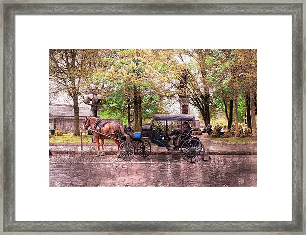 Carriage Rides Series 03 Framed Print