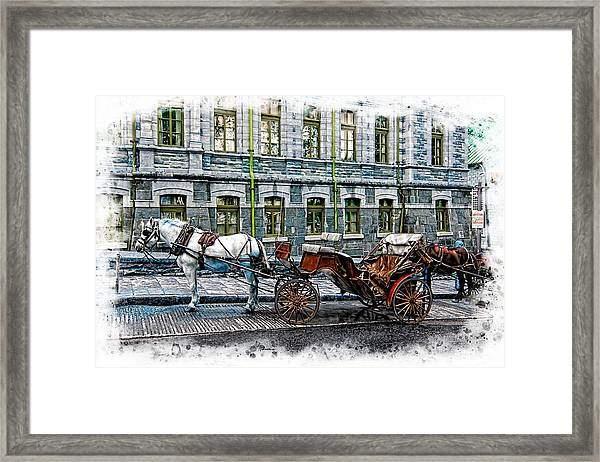 Carriage Rides Series 06 Framed Print