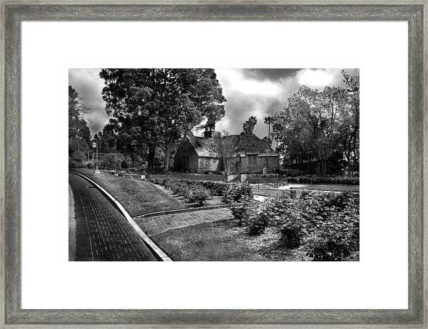 Carriage House Keeper By Denise Dube Framed Print