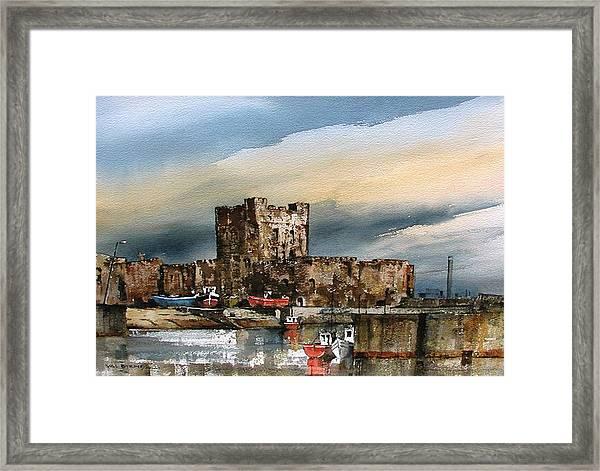 Carrickfergus Castle  County Antrim Framed Print