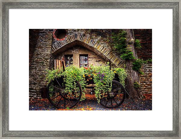 Cart Of Colors Framed Print