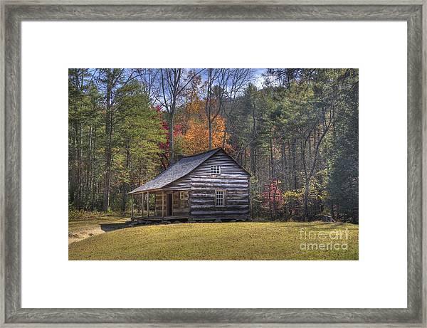 Carter-shields Cabin Framed Print