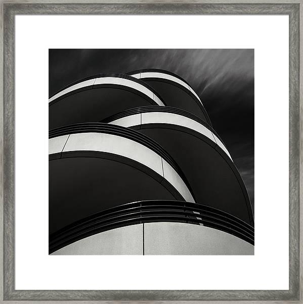 Cascade Balcony Framed Print