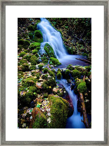 Cascade Creek Framed Print