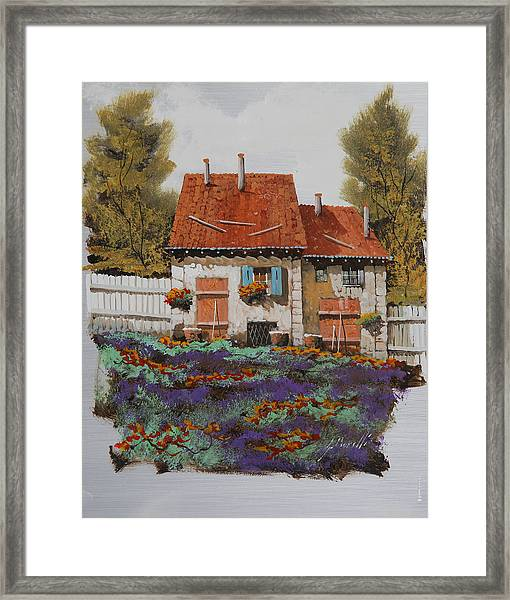 Case E Lavande Framed Print