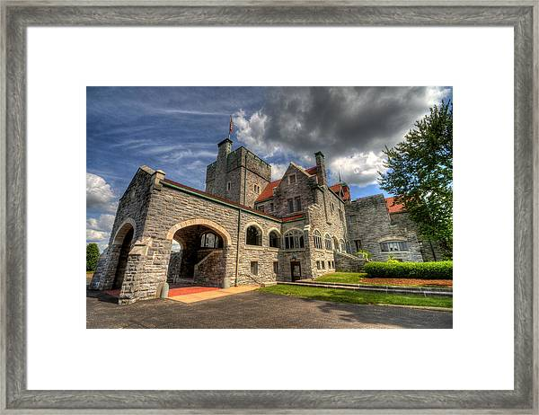 Castle Administration Building Framed Print