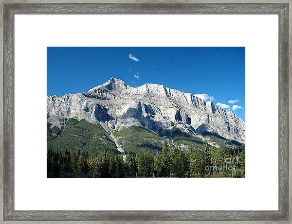 917a Castle Cliffs Canada Framed Print