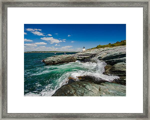 Castle Hill Lighthouse Framed Print