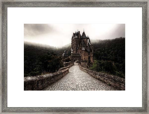 Castle In The Mist Framed Print
