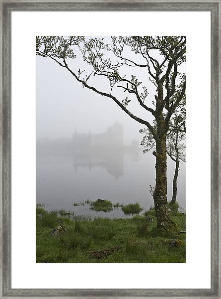 Castle Kilchurn Tree Framed Print