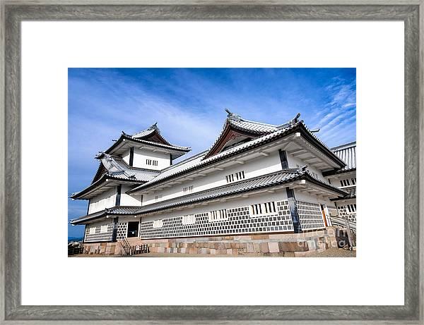Castle Of Japan Framed Print