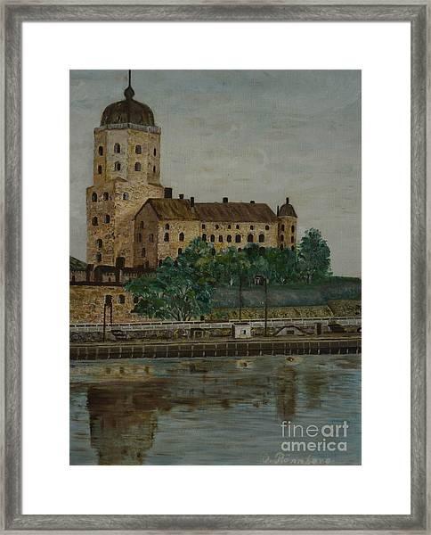 Castle Of Vyborg Framed Print