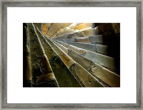 Castle Steps Framed Print