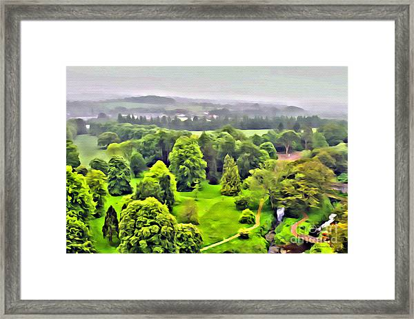 View From The Castle Framed Print