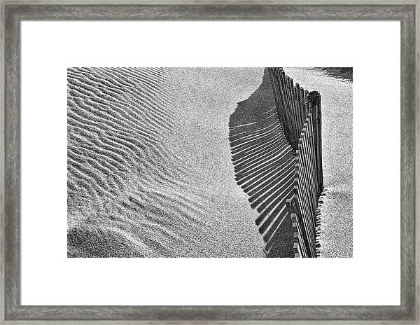 Castles In The Sand Framed Print