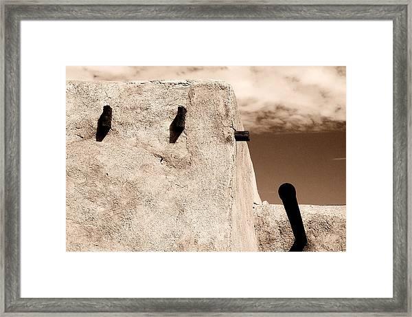 Castolon Adobe Ghost Framed Print