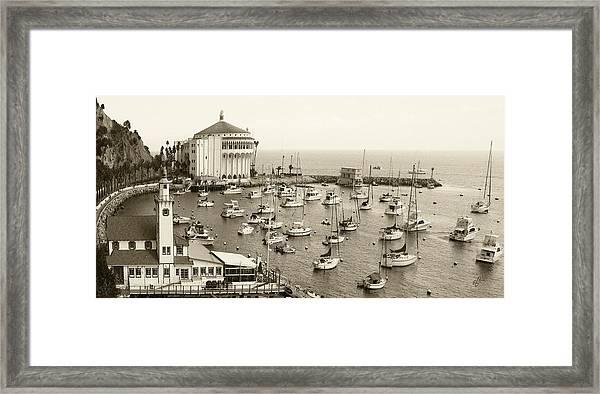 Catalina Island. Avalon Framed Print