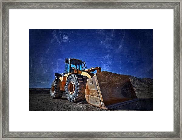 caterpillar 970F Framed Print