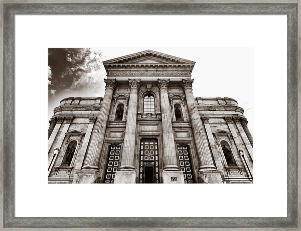 Cathedral Basilica Of Saints Peter And Paul - Philadelphia Framed Print