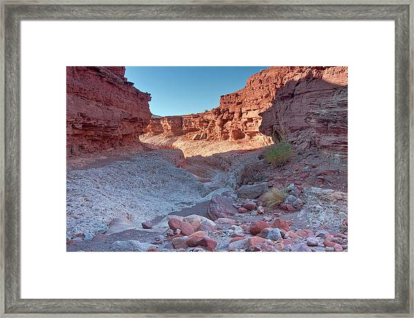 Cathedral Canyon Near Lees Ferry Framed Print by Witold Skrypczak