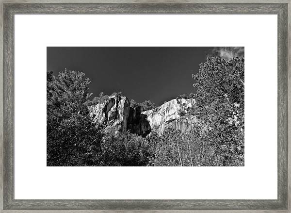 Cathedral Ledge Framed Print