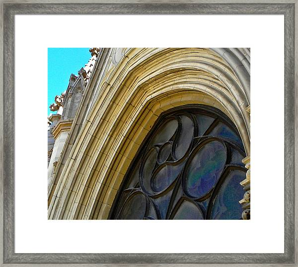Cathedral Window Framed Print
