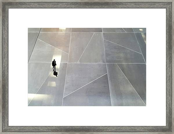 Caught Into The Light Framed Print