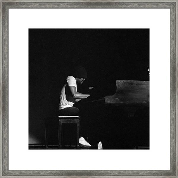 Cecil Taylor 2 Framed Print