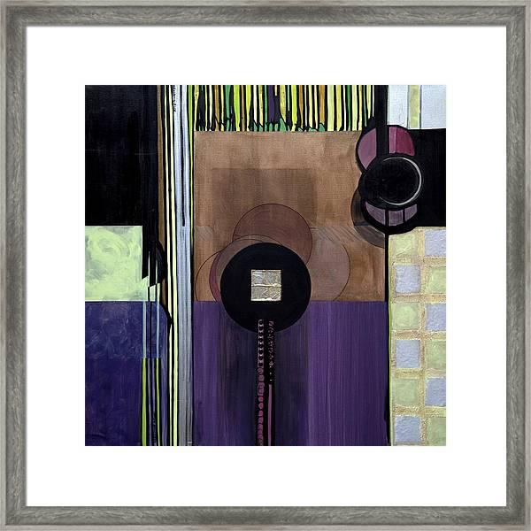 Celadons Framed Print