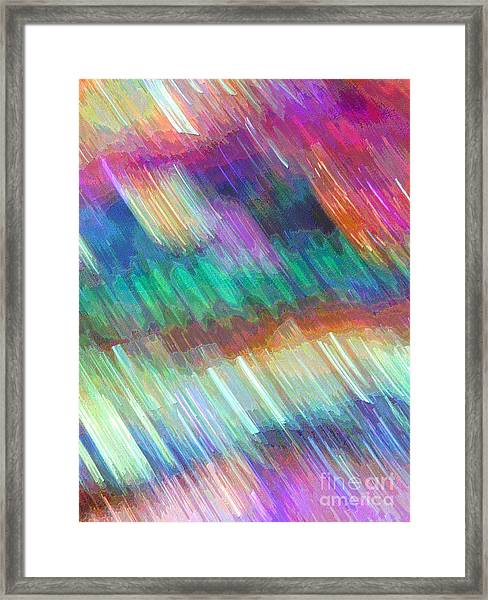 Celeritas 14 Framed Print