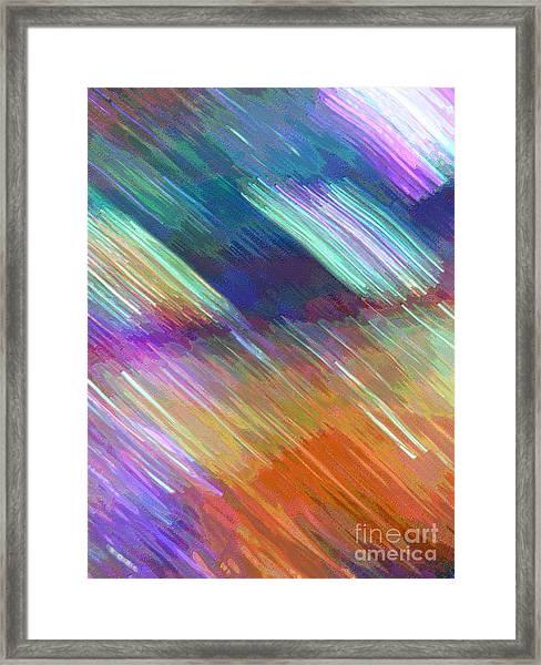 Celeritas 18 Framed Print