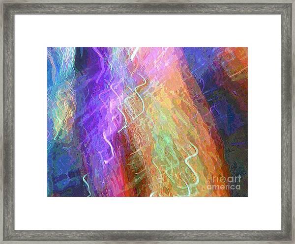 Celeritas 43 Framed Print