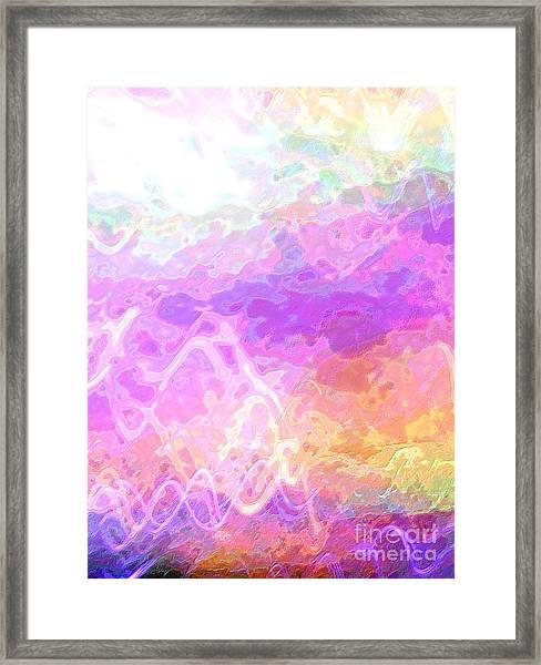 Celeritas 45 Framed Print