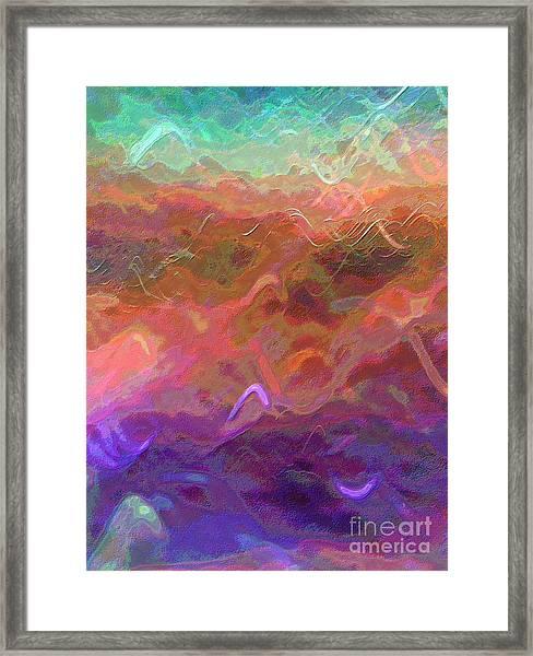 Celeritas 54 Framed Print