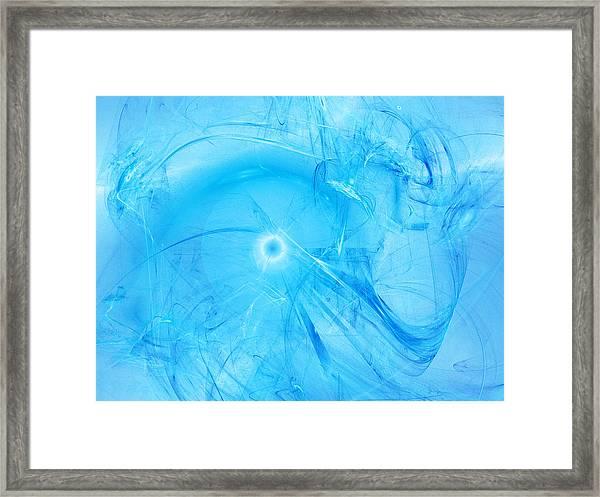Celestial Intelligencer Framed Print