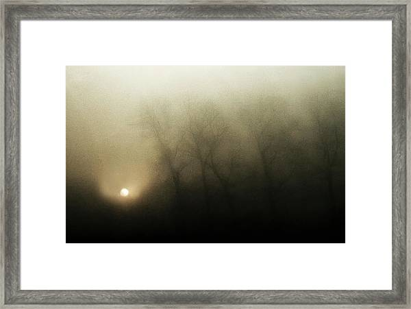 Celestial Melody To The Earth Framed Print