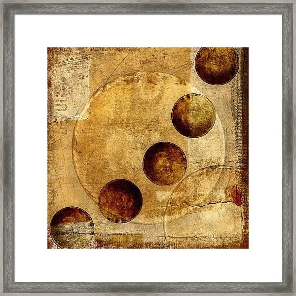 Celestial Spheres Framed Print