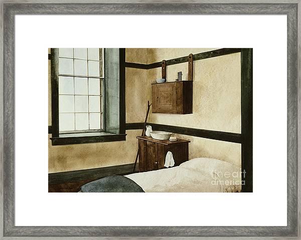 Celibate Framed Print