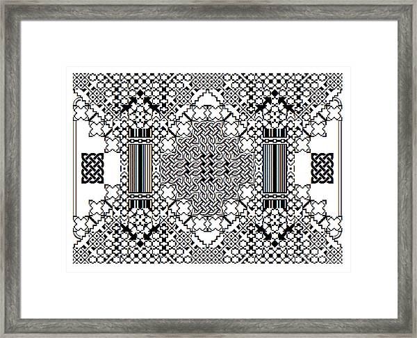 Celtic Builder Framed Print